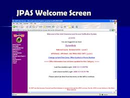 JPAS Login - Defense Security Service