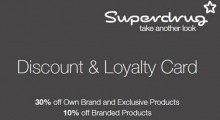 Superdrug Staff Loyalty Program