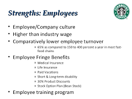 Starbucks Employee Benefits