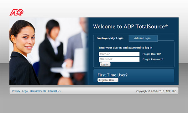 ADP TotalSource Account Access