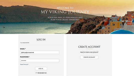 Viking Cruises Login Portal