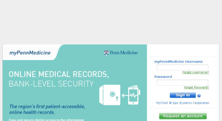 mypennmedicine org - Log Into Your MyPennMedicine MyChart