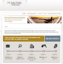 hilton.com/tmtp - Team Member Hilton Travel Program